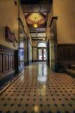 Vecchio ingresso della costruzione storica immagine stock