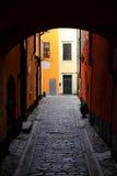 Vecchio ingresso a Stoccolma Fotografie Stock Libere da Diritti
