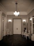 vecchio interno della casa Immagine Stock Libera da Diritti