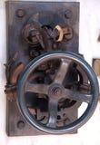 Vecchio interruttore meccanico dell'annata fotografie stock