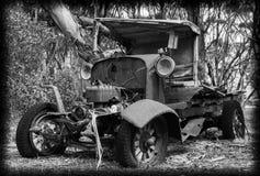 Vecchio jalopy Fotografia Stock