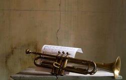 Vecchio jazz Fotografia Stock