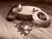 Vecchio Jewelery scandinavo Fotografia Stock Libera da Diritti