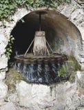 Vecchio laminatoio di acqua immagini stock libere da diritti