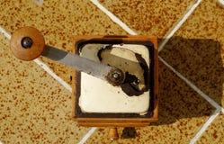 Vecchio laminatoio di pepe arrugginito Immagini Stock Libere da Diritti