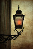 Vecchio lampione di modo Immagine Stock