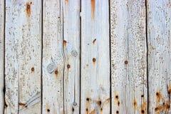 Vecchio legno bianco Immagini Stock Libere da Diritti
