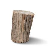 Vecchio legno del ceppo Fotografie Stock