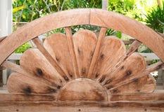 Vecchio legno di struttura in Tailandia Fotografia Stock