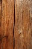 Vecchio legno granulare incrinato Immagini Stock Libere da Diritti