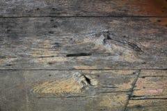 Vecchio legno incrinato Immagini Stock