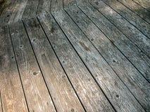 Vecchio legno strutturato Immagine Stock