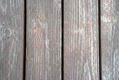 Vecchio legno trattato fotografia stock