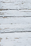 Vecchio legno verniciato bianco fotografie stock