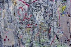 Vecchio lerciume sporco di graffity del muro di cemento ruvido immagine stock libera da diritti