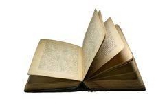 Vecchio libro 4 Fotografie Stock Libere da Diritti