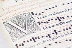 Vecchio-libro Fotografie Stock