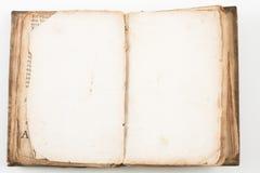 Vecchio libro antico Fotografia Stock Libera da Diritti