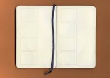 Vecchio libro antico Immagine Stock