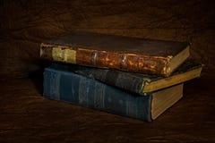 Vecchio libro antico fotografia stock