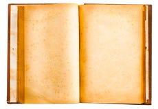 Vecchio libro antico isolato dell'annata Immagine Stock Libera da Diritti