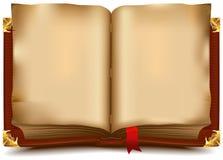 Vecchio libro aperto Immagini Stock Libere da Diritti