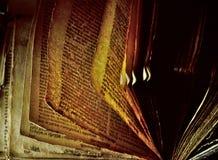 Vecchio libro - bibbia immagine stock