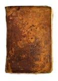 Vecchio libro dell'annata isolato sugli ambiti di provenienza bianchi Fotografia Stock