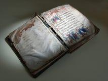 Vecchio libro della chiesa Immagine Stock