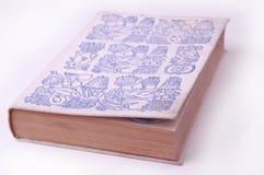 Vecchio libro di cottura Fotografia Stock