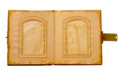 Vecchio libro di maschera Fotografia Stock Libera da Diritti