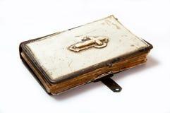 Vecchio libro di preghiera Fotografia Stock