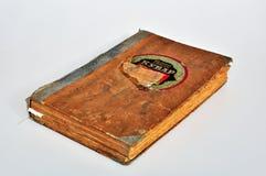 Vecchio libro di ricette fotografia stock libera da diritti