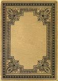 Vecchio libro grunged e macchiato Fotografie Stock Libere da Diritti