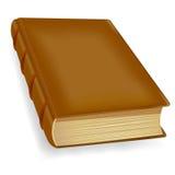 Vecchio libro, icona di vettore Fotografia Stock