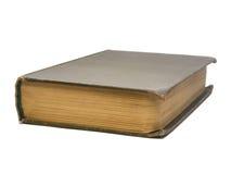 Vecchio libro isolato su una priorità bassa bianca immagini stock libere da diritti