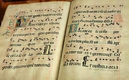 Vecchio libro religioso Immagini Stock