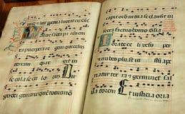 Vecchio libro religioso Immagine Stock