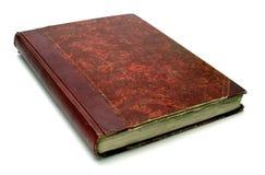 Vecchio libro rosso Immagini Stock