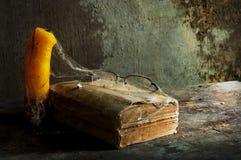 Vecchio libro una natura morta Immagine Stock