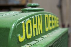 Vecchio logo di John Deere Immagini Stock