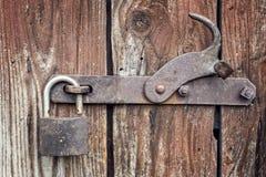 Vecchio lucchetto Fotografia Stock Libera da Diritti