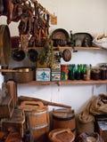 Vecchio magazzino fotografia stock