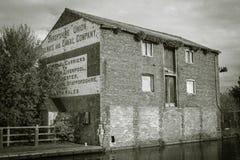 Vecchio magazzino a Ellesmere, Shropshire fotografie stock