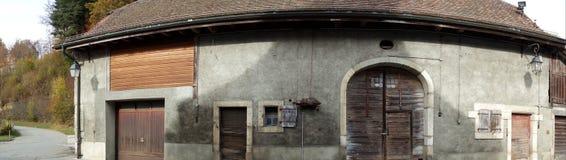 Vecchio magazzino svizzero del granaio Immagini Stock Libere da Diritti