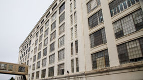 Vecchio magazzino Windows Immagini Stock Libere da Diritti