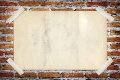 Vecchio manifesto dell'annata Immagini Stock Libere da Diritti
