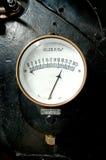Vecchio manometro Fotografie Stock