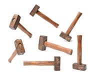 Vecchio martello fotografia stock libera da diritti