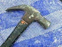 Vecchio martello Immagini Stock